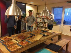 Pizza eten Hackathon