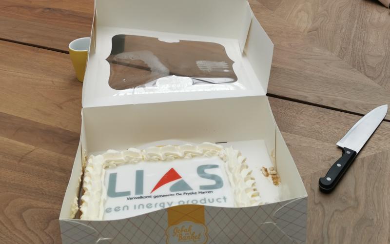 Nieuwe klant gemeente De Fryske Marren verwelkomd met taart