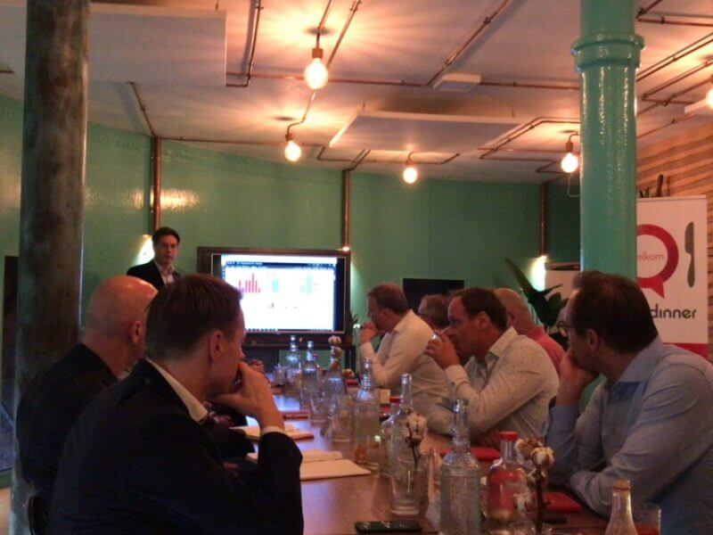 Talking Dinner, Accelerate your business with AI
