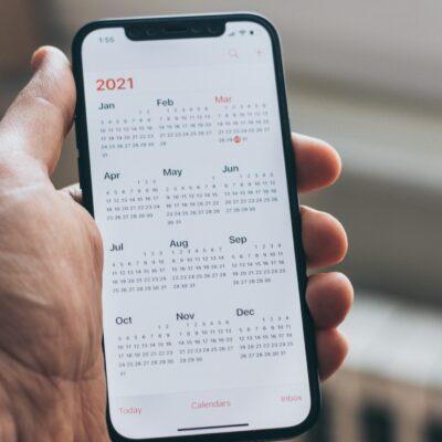 Timeline informatiebeveiliging, privacy en auditing 2021