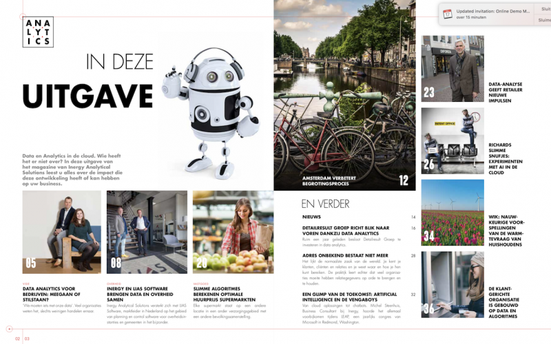 Het Inergy Magazine: Data & Analytics